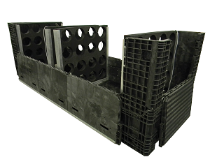146_x_48_x_50_Custom_Drive_Shaft_Container_with_Custom_Dunnage